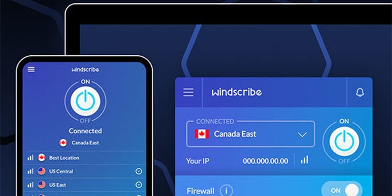 Dedicated Apps for Windscribe