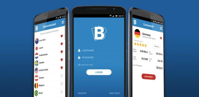 iOS App for Buffered VPN