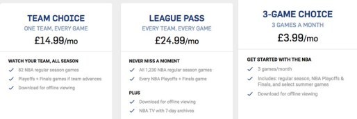 International League Pass Price
