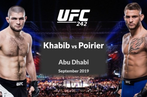 Watch UFC 242 Anywhere