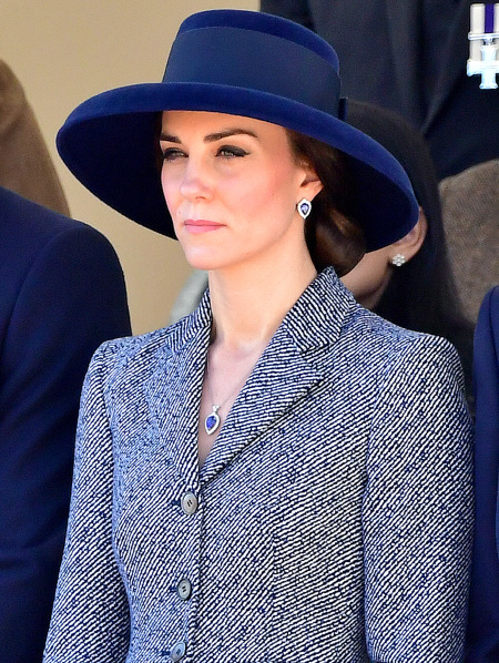 Princess Kate's Tanzanite jewelry