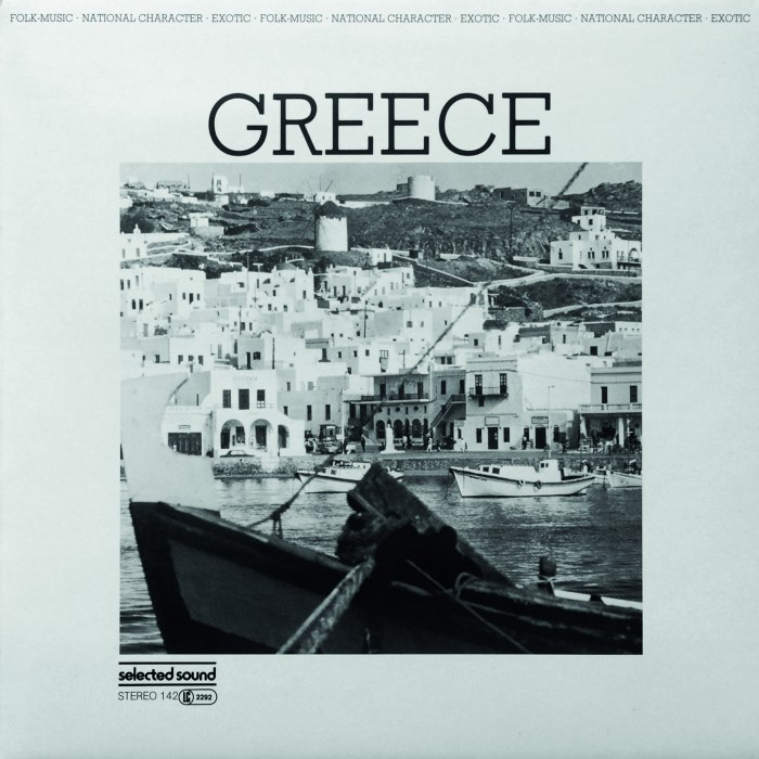 Selected Sound ‎– Folklore-Serie GREECE – Selected Sound ‎– ST 142 Germany 1983