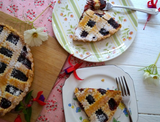 crostata slices