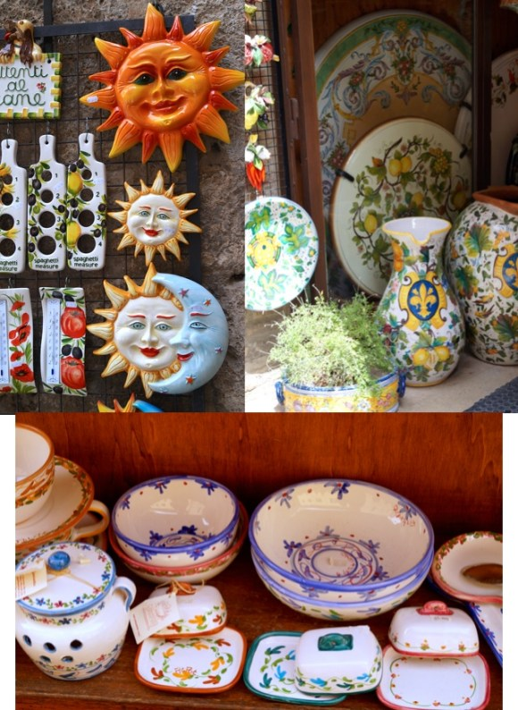 pottery in san gimi