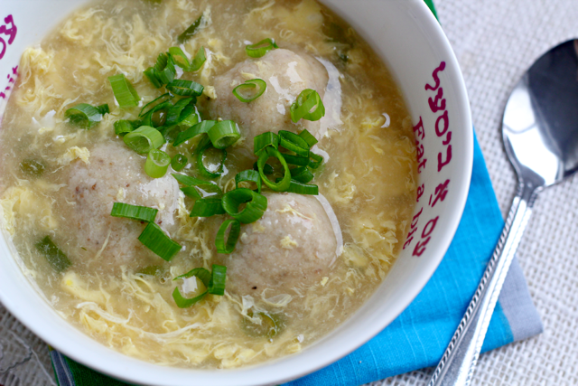 Egg Drop Matzo Ball Soup- the Ultimate Comfort Food! by What Jew Wanna Eat 11
