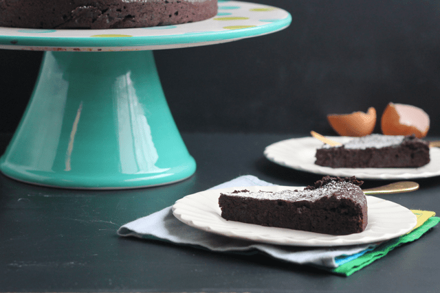 Flourless Chocolate Cayenne Cake