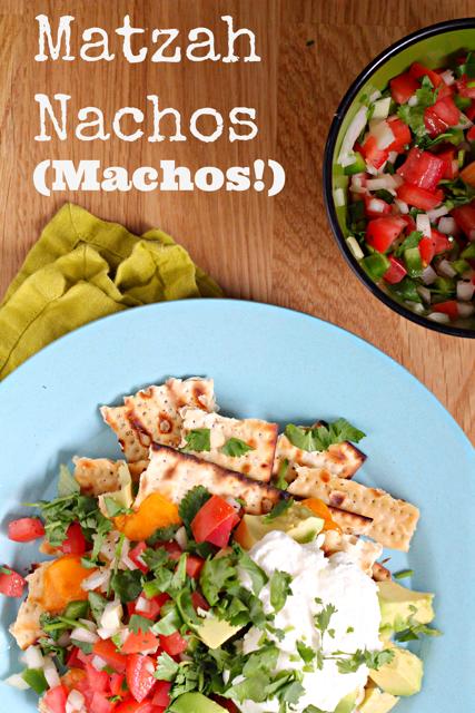 Matzah Nachos