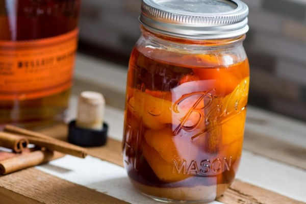 Apricot Infused Bourbon