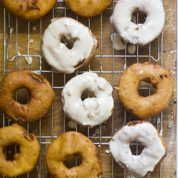Apples and Honey Doughnuts