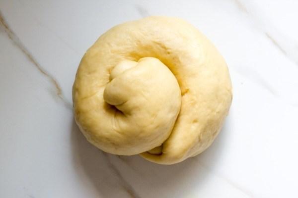 Cheesy Garlic Bread Stuffed Challah