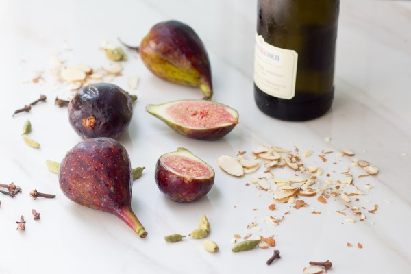 Poached Figs with Honey, Orange and Spices - What Jew ...