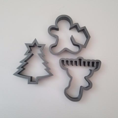 Chrismukkah Cookie Cutters