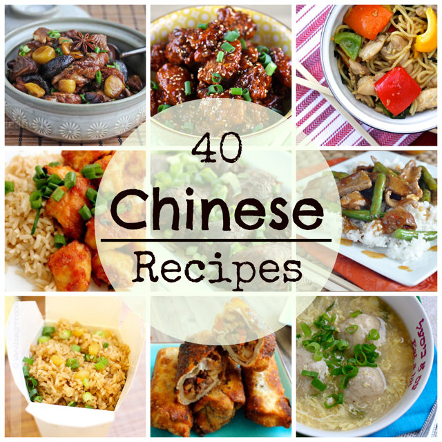 Chiense Food: 40 Chinese Food Recipes
