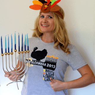 Thanksgivukkah T-Shirt Giveaway!