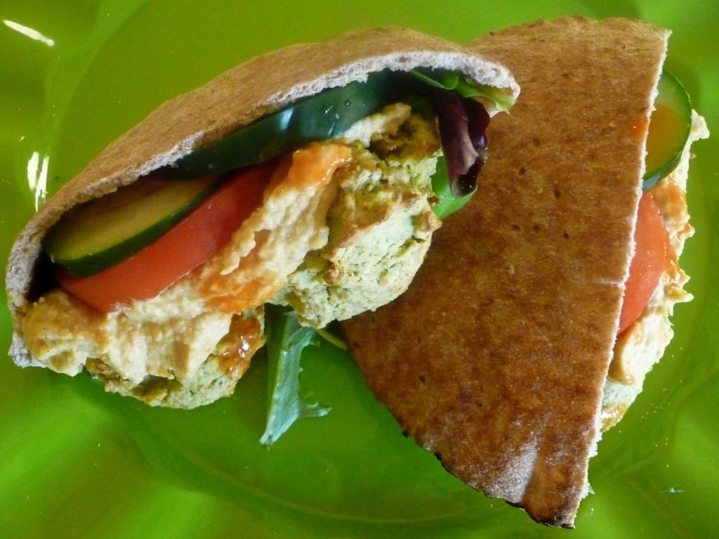 baked falafel