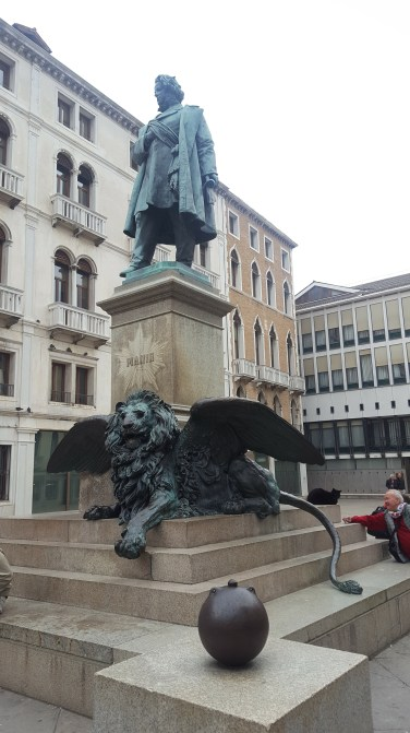 Winged Lion, Venice