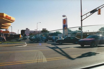 There was a panic over gas availability, and many gas stations doubled or tripled gas prices. I believe this was the Shell at 16th and Illinois.