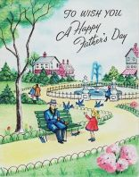 Father's Day cards from the past 50 years