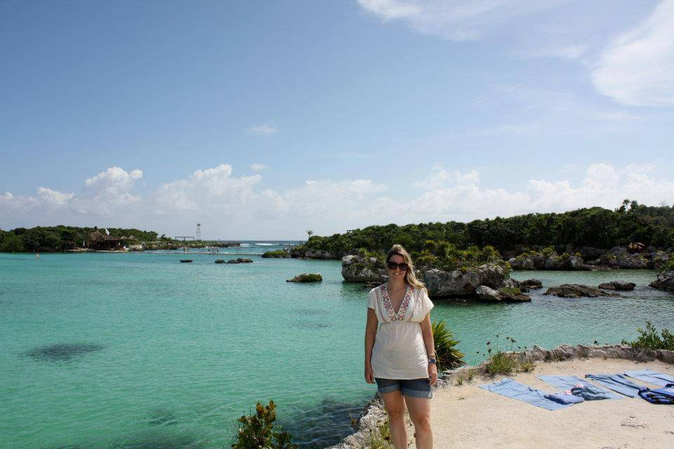 Kirsty in Tulum, Mexico