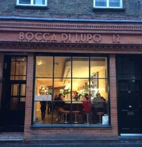 Bocca di Lupo, Soho, London