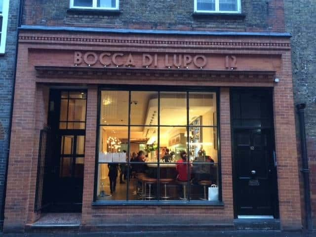 Bocca di Lupo, Soho, London