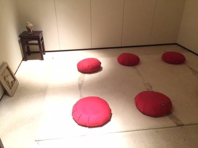 meditation room at Akasha