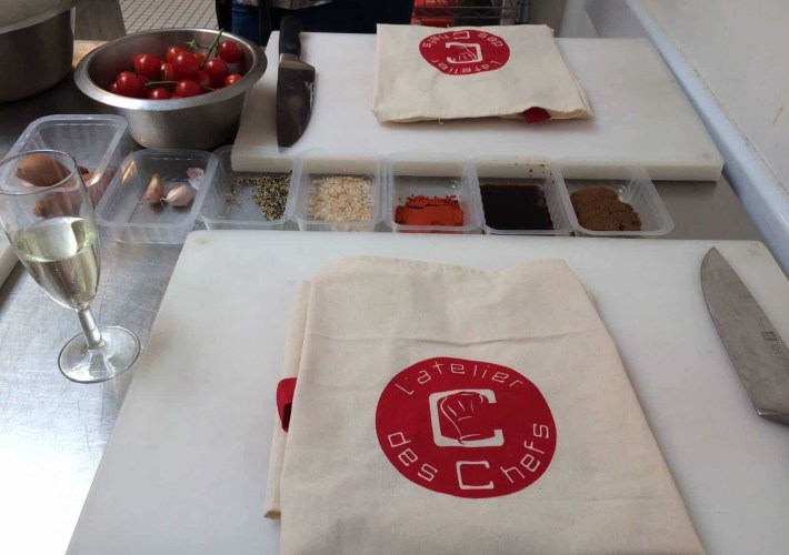 Atelier des Chefs and Tefal bloggers event