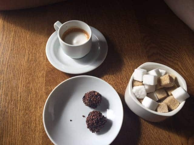 coffee and chocolates