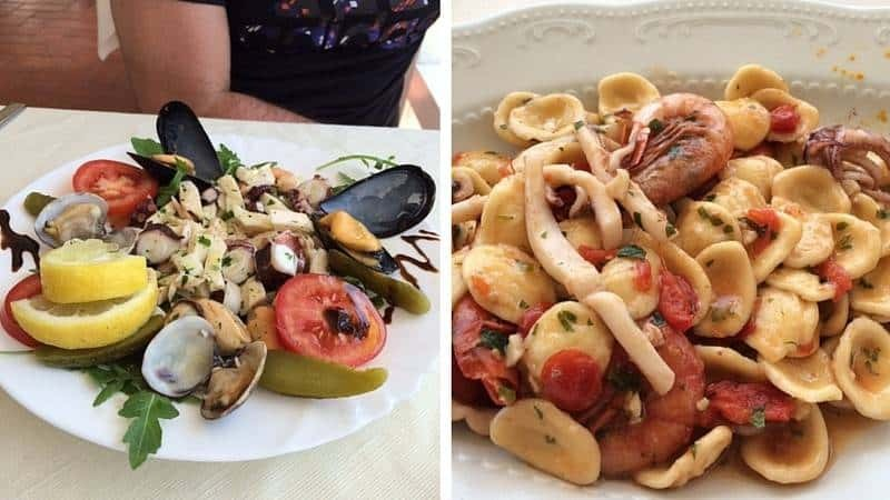 Food from Tropea
