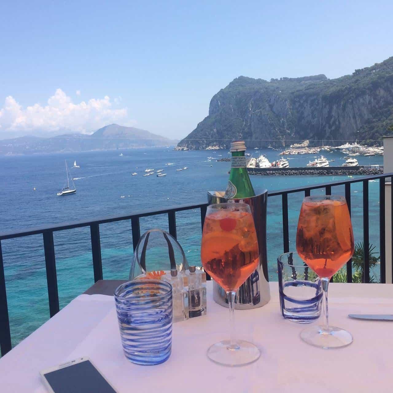 JK Place in Capri