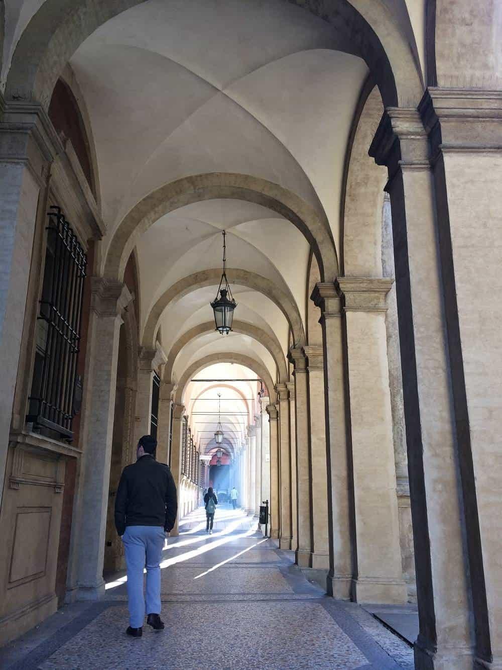 Bologna arches