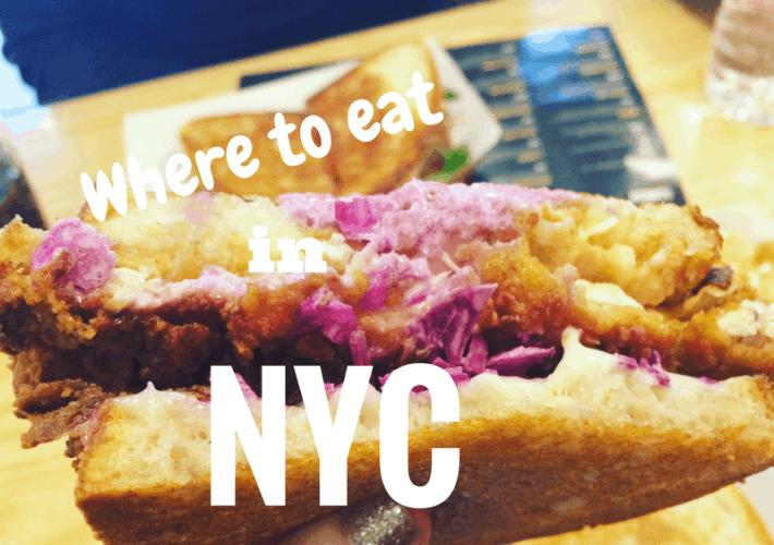 Where to eat in New York