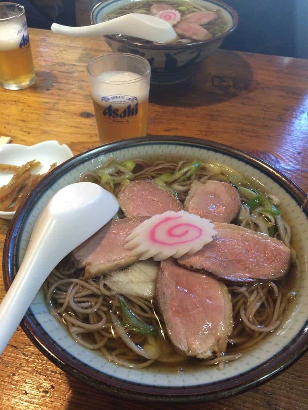 Duck ramen from Nikko