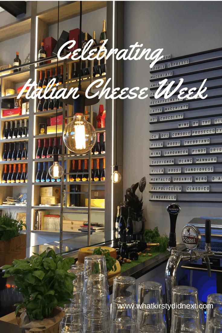 Celebrating Italian Cheese Week
