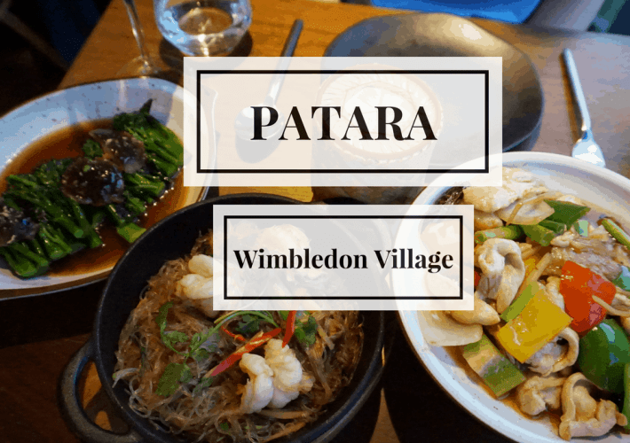 A review of Patara Wimbledon Village