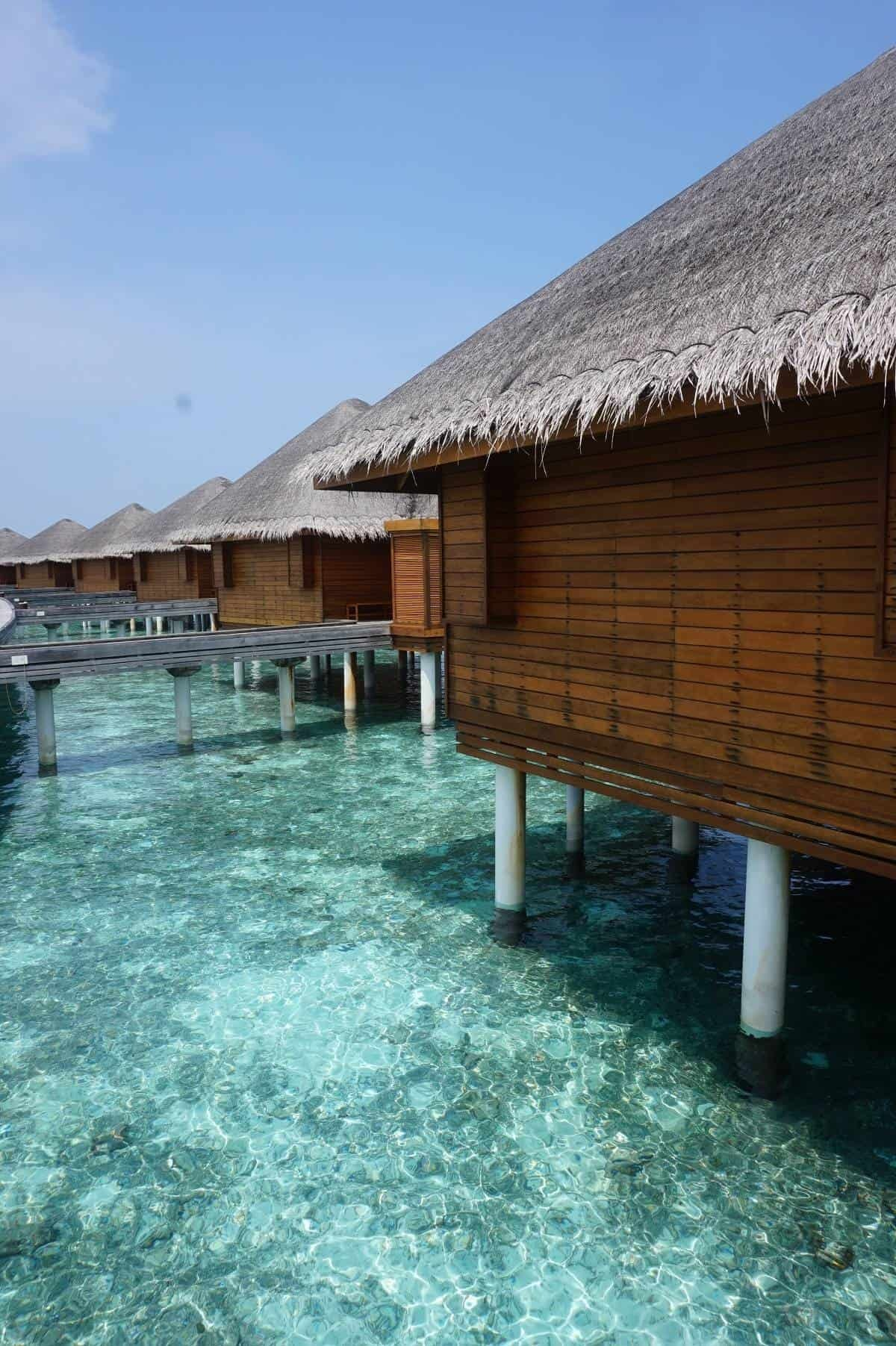 Ocean bungalow at Huvafen Fushi Maldives