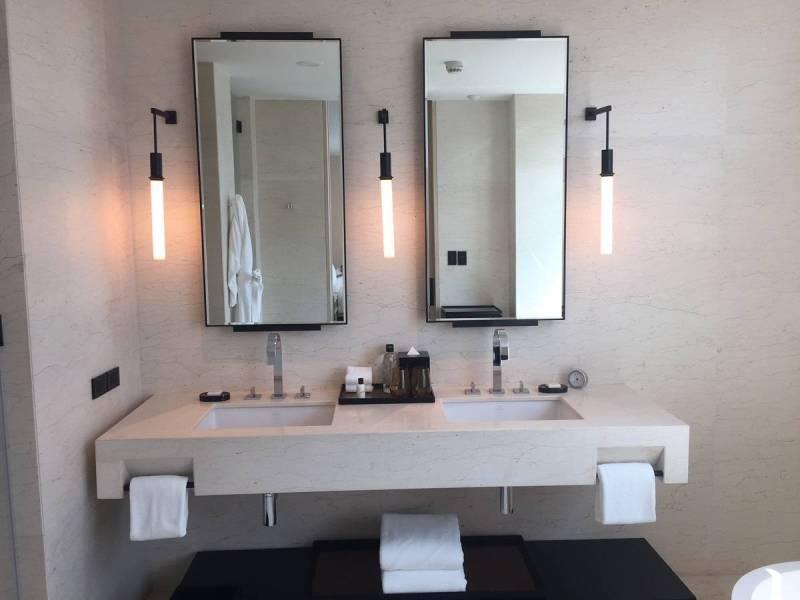 Bathroom at Park Hyatt Bangkok