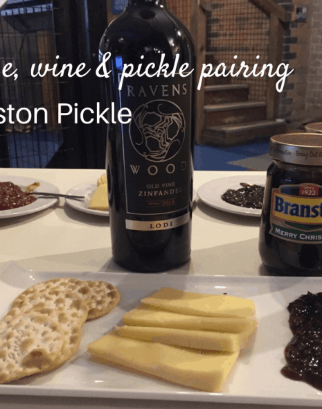 Pairing cheese, wine & pickle with Branston