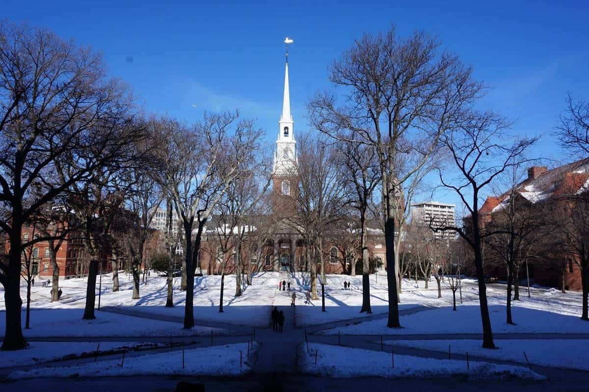 Harvard University in Boston