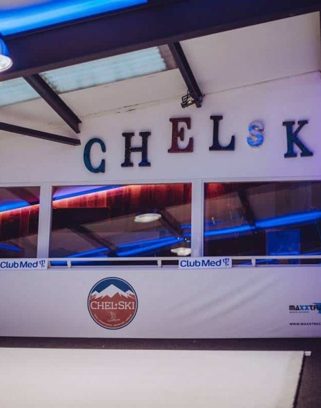 Chel-ski indoor skiing with Club Med