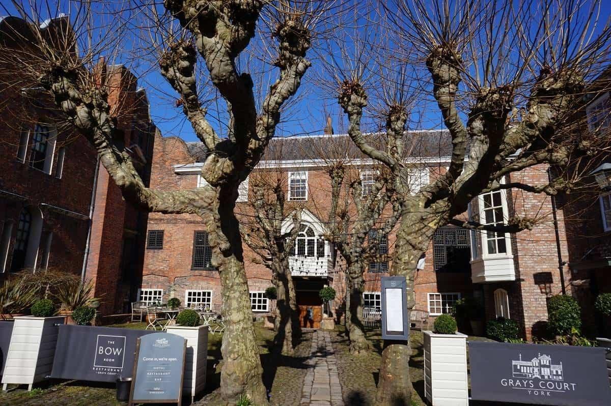 Grays Court Hotel York