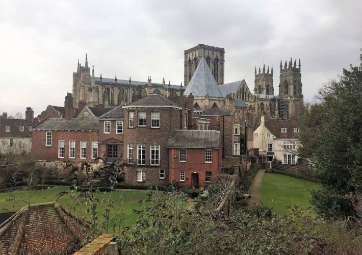 Grays Court Hotel and York Minster