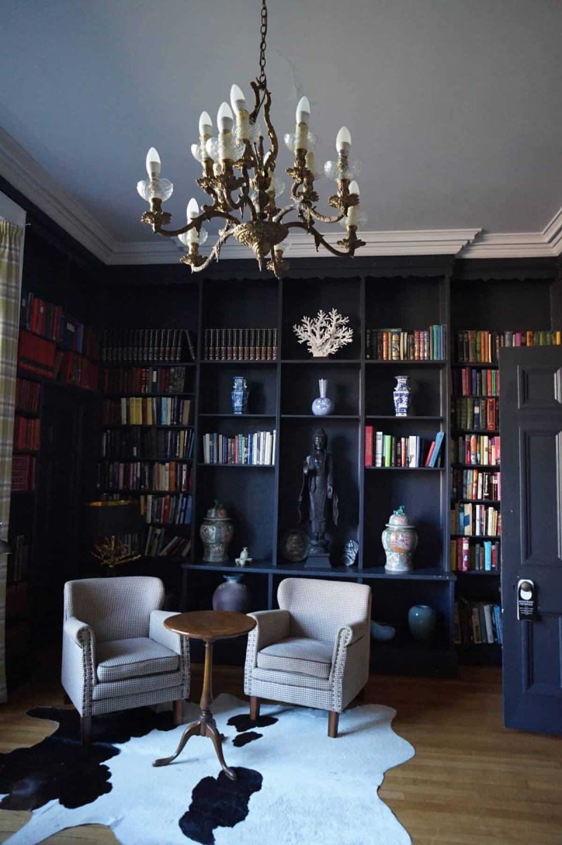 The library at Grays Court hotel