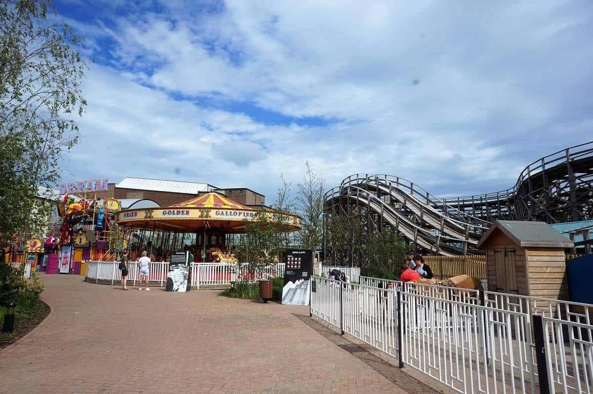 The Scenic Railway at Dreamland Margate