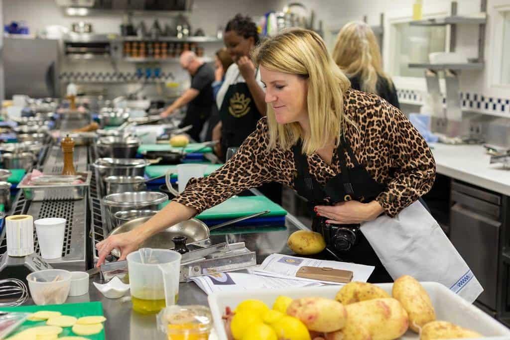 Parma Ham workshop at Le Cordon Bleu