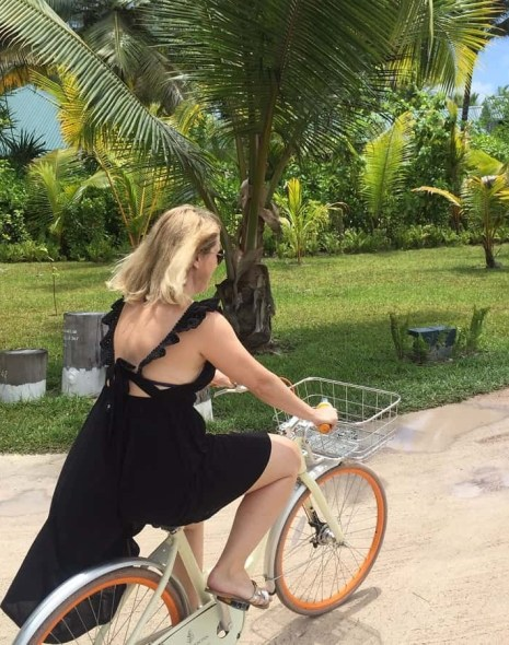 Cycling in the Seychelles