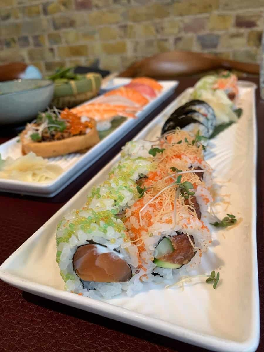 Sushi at Sticks n Sushi