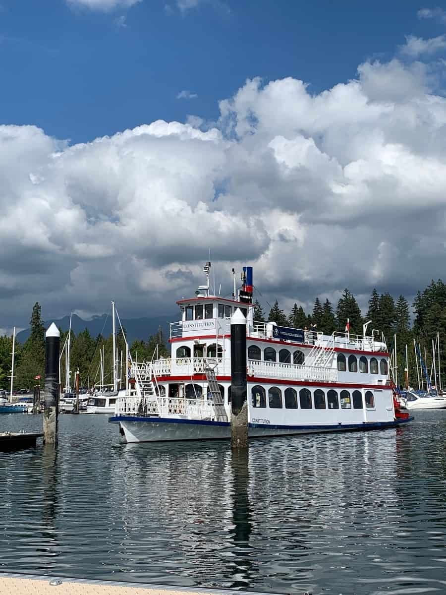 Vancouver harbour tour