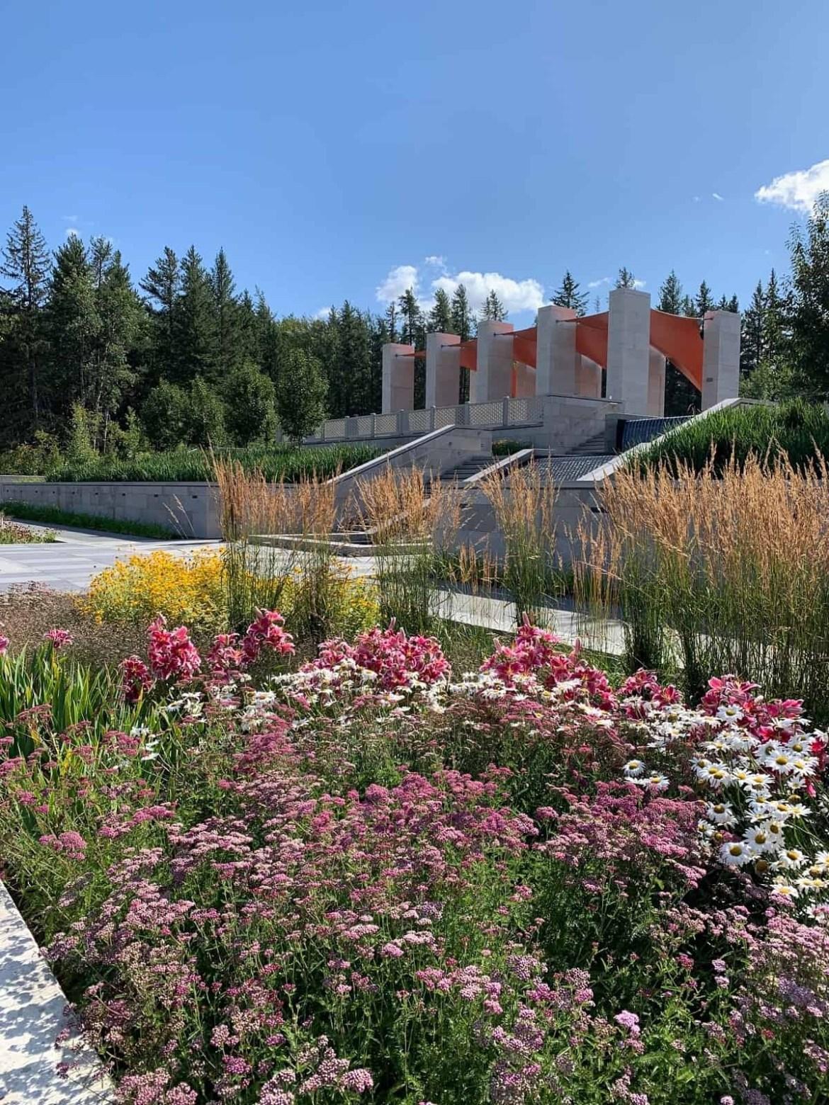 Aga Khan Garden in Edmonton