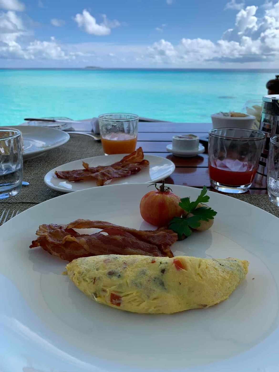 Breakfast at Reethi Rah